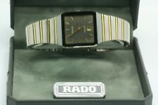 Rado Diastar Swiss Unisex Mens Watch Two Tone