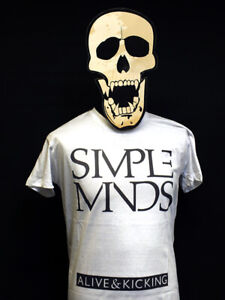 Simple Minds - Alive & Kicking - T-Shirt