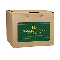 LL Magnetic Clay Bath - Clay Detox - 5lb - Raw, Untreated Healing Clay for Bath