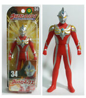"Bandai Ultra Hero Series #34 VINYL ULTRAMAN MAX 6"" Action Figure MISB"