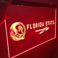 Florida State Seminoles LED Neon Sign for Game Room,Office,Bar,Man/Lady Cave.