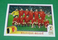 N°549 EQUIPE BELGIQUE BELGIË PANINI FOOTBALL JAPAN KOREA 2002 COUPE MONDE FIFA