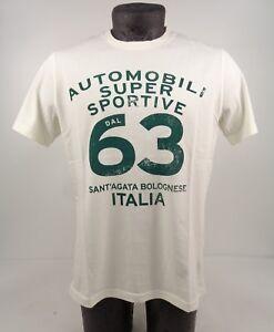 NEW GENUINE Lamborghini Automobili Super Sportive White T-Shirt S-L D1 LT7
