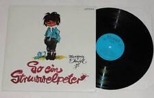 SO EIN STRUWWELPETER Hansgeorg Stengel LP Vinyl Kinder 1981 LITERA * TOP