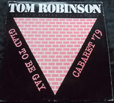 TOM ROBINSON Glad To Be Gay - Caberet '79 LP 1882 Germany