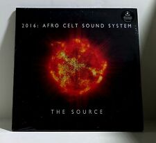 AFRO CELT SOUND SYSTEM The Source VINYL 2xLP Sealed USB with Exclusive Material
