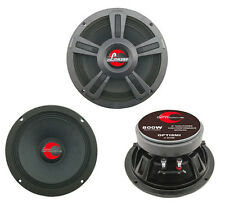 "New Lanzar OPTI8MI 8"" 800 Watt 4-Ohm High Power Mid Bass Car Audio Speaker"