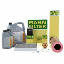 MANN Filterset + 7L ORIGINAL Mercedes-Benz 5W30 Motoröl für W211 E200/220CDI
