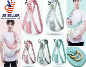 Baby Water Ring Sling Carrier Lightweight Breathable Mesh Baby Wrap