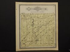 Michigan, Branch County Map, 1915 Township of Sherwood L2#72