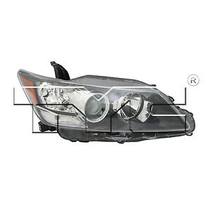 TYC Right Side Halogen Headlight Assembly For Scion TC 2011-2013 Models