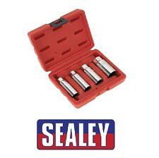 """SEALEY Spark Plug Socket Set 4pc 3/8""""Sq Drive AK6556"""