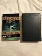 The Green Mile by Stephen King (1997, Trade Paperback) With Slip Case