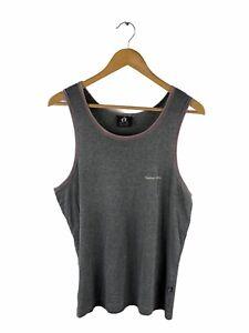 Hang Ten Sleeveless Singlet Mens Size L Grey Casual Beach Muscle Tank Top Sun