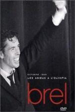 """JACQUES BREL """"LES ADIEUX A L´OLYMPIA"""" DVD NEW+"""