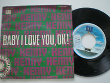 KENNY Baby I Love Yoy, Ok! SPAIN 45 1975 Glam Rock Fuzz