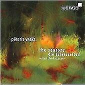 Vasks - The Seasons, Vestard Shimkus, Audio CD, New, FREE & Fast Delivery