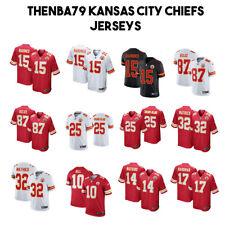 Kansas City Chiefs Mahomes, Kelce, Hill, Edwards-Helaire, NFL Jerseys 2020