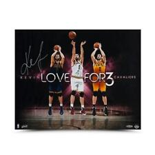 "Kevin Love Autographed ""For Three"" 20 x 16 Cavaliers"