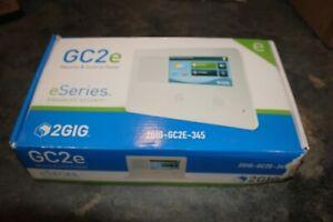 2-GIG 2-GIG-GC2E-345 Touchscreen Alarm Security Control Panel OPEN BOX