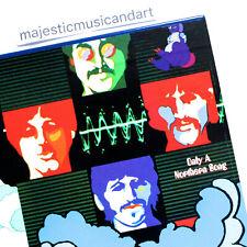 RARE ALT COVER THE BEATLES YELLOW SUBMARINE VINYL LP NEAR MINT RARE