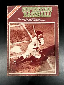 SUPERSTAR BASEBALL! Game Sports Illustrated Avalon Hill Complete!