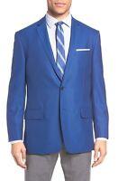 $3499 Canali Men Blue Jacket Cashmere Sport Coat Blazer Italy Suit Us 38 Eu 48