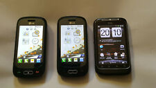 LG GT350 x 2 and HTC wildfire Phones