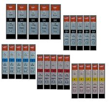 25 Tinte Patrone für Canon IP4200 IP4300 IP4500 IP3300 IP5200R MP520 MP530