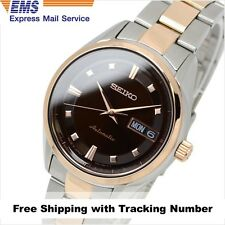SEIKO PRESAGE SRRY012 Automatic Silver Brown PinkGold Ladies Watch Made in Japan