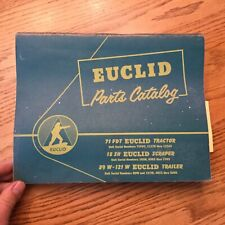 Euclid 71FDT 18SH SCRAPER PARTS MANUAL BOOK CATALOG GUIDE LIST TRACTOR TRAILER