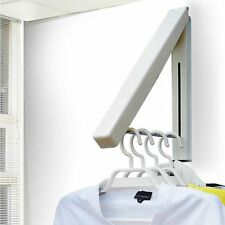 New Clothes Hanger Rack Indoor Foldable Wall Stainless Steel Foldabel Hangers