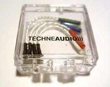 Headshellkabel, aus 99,999% Silber, 2 Stränge a 7 Drähten, von TechneAudio)))