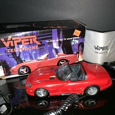 1994 Dodge Viper Novelty Telephone! Original Box with Instructions Classic