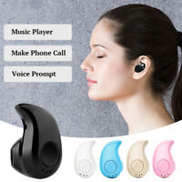 Mini Wireless Bluetooth Earbud Headset Earphone For Mobile Phone IOS/Android