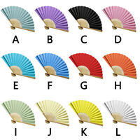 Fashion Chinese Style Hand Held Fan Bamboo Paper Folding Fan Party Wedding Hot