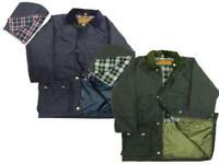 Kids British Quilted Wax Rain Jacket | Raincoat | Outdoor Wear