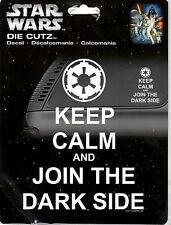 KEEP CALM AND JOIN THE DARK SIDE DECAL(40019)
