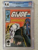 1987 Marvel G.I. Joe: A Real American Hero #55, CGC 9.4 Grunt Retires From Joes