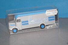 BOX-4] Albedo alter M.A.N Koffer 130 Jahre Münchner Weißwurst OVP 1/87