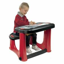 Disney Pixar Cars 3, Kids Activity Educational Desk & Bench, With Storage Space
