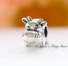Authentic Pandora Silver COW Animal Charm 790565 RETIRED
