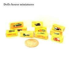 TOY CAR BOXES   DOLLS HOUSE miniatures