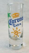 CORONA  EXTRA TALL  SHOOTER SHOT GLASS  FOR YOUR BAR or PERSONAL COLLECTION