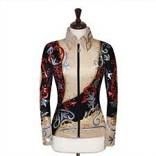 SMALL  Showmanship Pleasure Horsemanship Show Jacket Shirt Rodeo Queen Rails Top