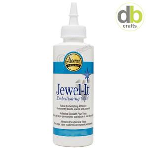 2oz 59ml Aleene's Original Premium JEWEL-IT Tacky Glue Arts Crafts ( 15630 )