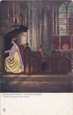 "Vintage UK Raphael Tuck ""Illustrated Songs - The Lord Chord"" Seated One Day 1159"