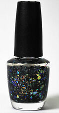 OPI Nail Polish Lacquer HR F17 Comet In The Sky Sparkling Shine Multi Color 15ml