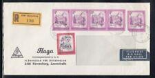 Austria Registered Cover Korneuburg to Westbury 28-11-1980 Cancel