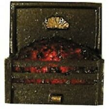 Coal Fire Grate Glowing Embers with Bulb  Dolls House miniature room accessory